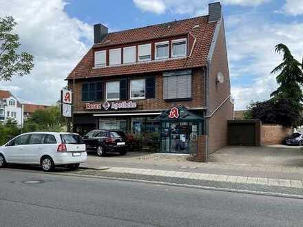 Hildesheim-Nord: 1-2 Familienhaus mit Gewerbeanteil, Keller und Garage