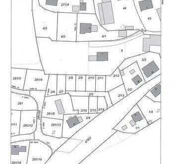Grundstück mit Baugenehmigung über 12 Doppelhaushälften