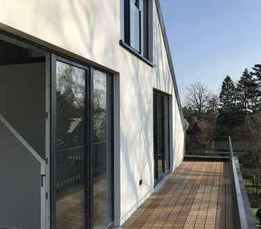 Neubau! Dachgeschoss mit offener Galerie! Individuelle 3,5 Zi-Maisonette-Wohnung zu vermieten!