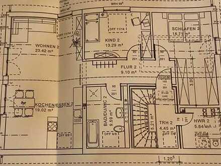 Erstbezug mit Garten . Schöne 3-Zimmer-Dachgeschosswohnung in Schulzendorf