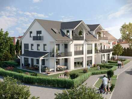 ruhige exklusive Top-Lage in Gersthofen! modernes attraktives Single-Apartment mit Terrasse und Gar