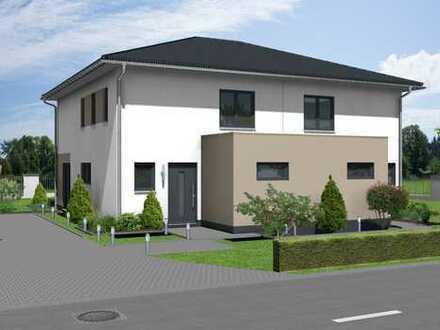 Traumhafte Doppelhaushälfte: Wohnen im Grünen am Ortsrand
