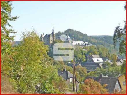 Auf Augenhöhe mit der Burg Lauenstein!
