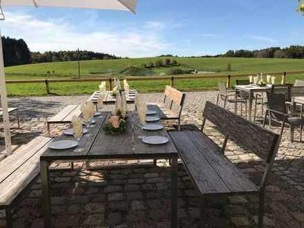 Idyllischer Landgasthof : Ca. 600 m² Gastronomiefläche mit Restaurant und Cafe auf Gut Kerschlach