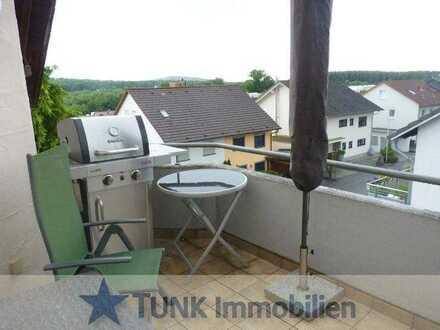 Großzügige 3 Zi. DG-Wohnung mit Balkon in Goldbach!