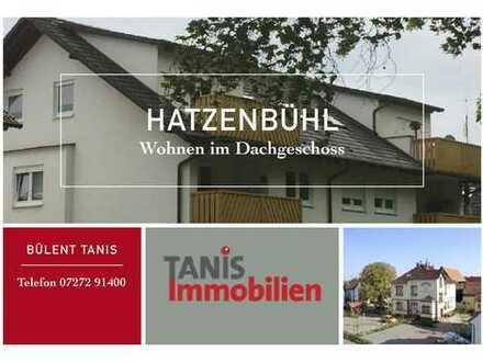 Sonne Pur! Schicke Dachgeschosswohnung in Randlage von Hatzenbühl.