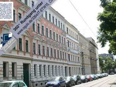 +++vermietete 3 Zimmer-Dachwohnung mit Loggia, Parkett und Parkblick+++