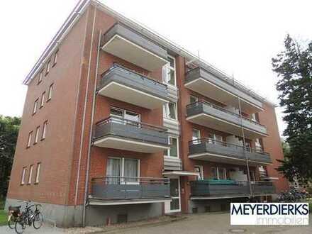 Donnerschwee - Graf-Spee-Straße: gemütliche 3-Zimmer-Wohnung mit EBK und zwei Balkonen