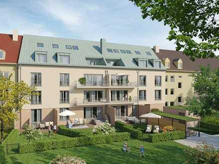Moderne 3-Zimmer-Gartenwohnung in bester Umgebung - völlig urban und doch herrlich grün