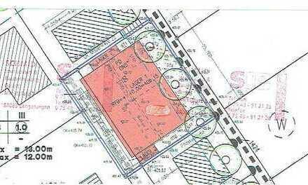 Gewerbegrundstück für Halle, Büro und Betriebsleiterwohnung,Baugenehmigung, Statik, sofort bebaubar