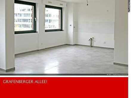 Hochwertig modernisierte 3-Zi-Wohnung auf der Grafenbergerallee - D'dorf mitTiefgaragenstellplatz!