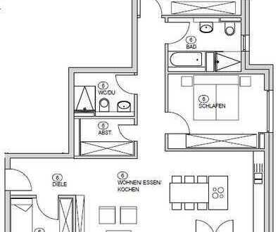 Barrierefreie Wohnung mit Loggia in südwestlicher Lage