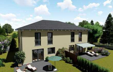 """Unser Doppelhaus """"Family 120"""" als Einfamilienhaus auf tollem Grundstück in Augsburg - Bärenkeller !!"""