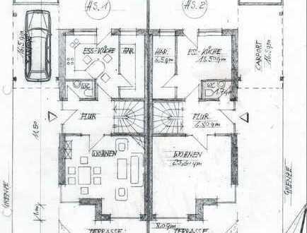 Schöne Doppelhaushälfte in ruhiger Sackgasse zu vermieten