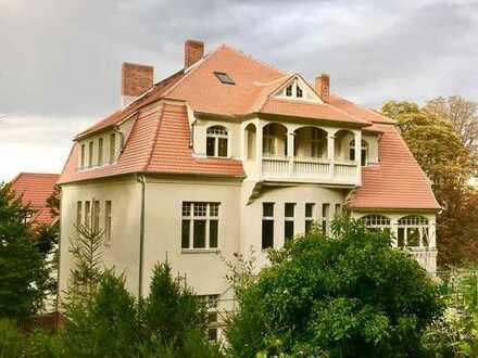 Erstbezug nach Sanierung: freundliche 7-Zimmer-Wohnung mit Balkon in Naumburg / Saale