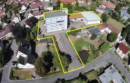 Bürohochhaus mit Lager- und Produktionsflächen zur flexiblen Nutzung