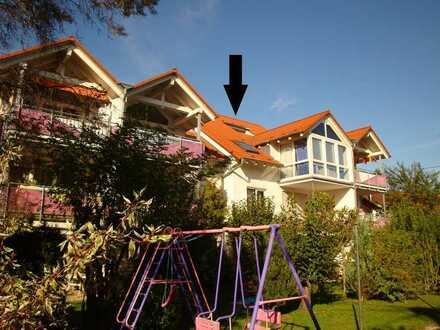 Wohnen über den Dächern von Dettingen - Teckblick inklusive! - Ideale Singlewohnung!