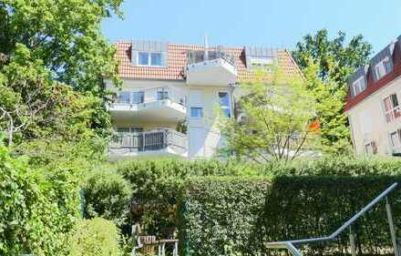 Naturnahe 3-Zimmer-Wohnung in Erlangen-Burgberg