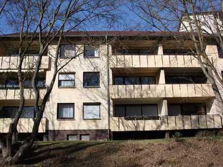 2 Zimmer-Wohnung mit Balkon in Niederwerrn