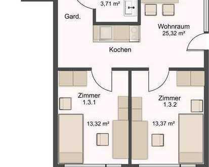 1 Zimmer frei in 2er Wg