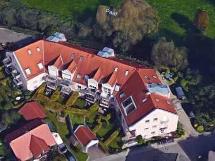 Mering Appartement 1 ZKB Balkon in zentraler Lage und Bahnhofsnähe