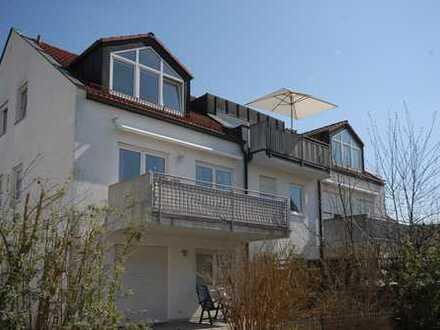 Helle, 3-Zi-Dachgeschosswohnung mit zusätzlichem Hobbyraum in Freising