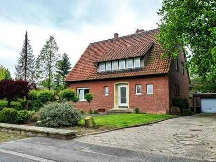 Neuwertige 4-5 Zimmer-EG-Wohnung mit Balkon und EBK in Drensteinfurt