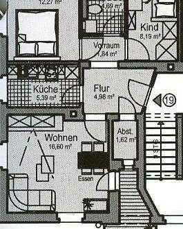 *** Kleine 3-Raum-Wohnung gesucht? GEFUNDEN! Und das auch noch provisionsfrei! ***