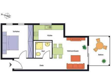 Schöne 2-Zimmer-Eigentumswohnung