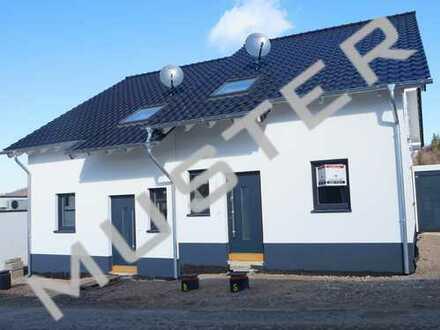 Neubau: Doppelhaushälfte