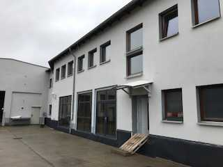 Gewerbegrundstück mit Lager/ Werkstatt und Bürogebäude an der Delitzscher Straße
