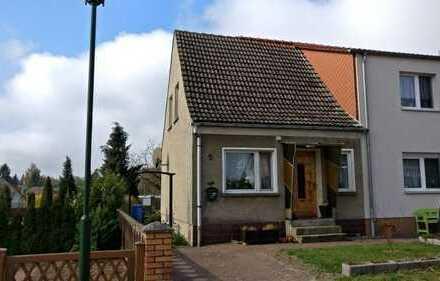 Doppelhaushälfte in ruhiger Randlage der Stadt Woldegk