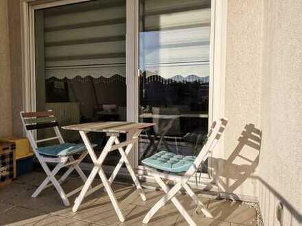Schöne 2-Zimmer Wohnung mit Küche, Diele, Bad (inkl. Badewanne), Kellerabteil und Balkon