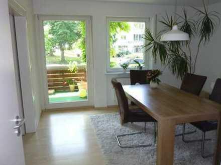 Ruhige, sonnige 5-Zi.Wohnung mit Balkon in der Cité Baden-Baden