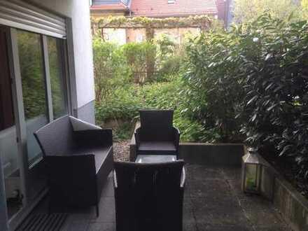 Möblierte Wohnung 2-Zimmerwohnung mit Terrasse zur Kurzzeitvermietung