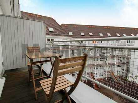 Hoch hinaus! Einzigartige Maisonettewohnung mit Terrasse im Dachgeschoss