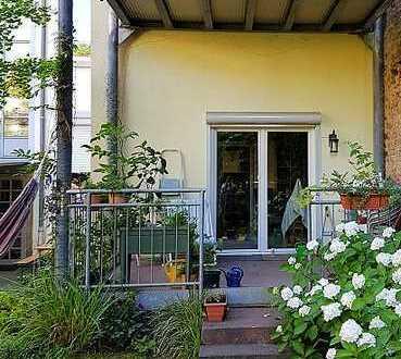 Selten: Schöne 4-Zimmer-Innenstadt-Wohnung mit Direktzugang zum Garten