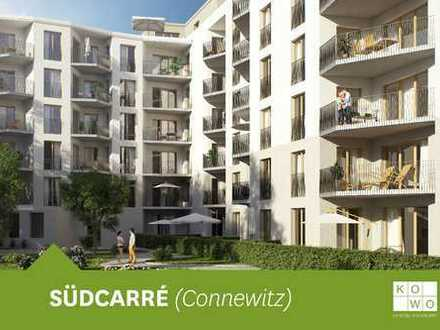 EXKLUSIVER NEUBAU IN CONNEWITZ: 2-Zimmerwohnung im Erdgeschoss mit Terrasse und Garten