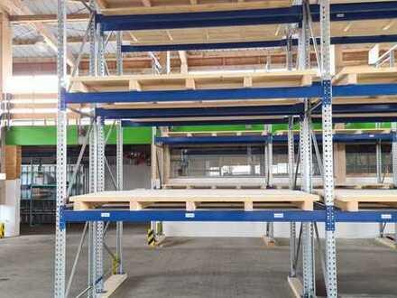Regalflächen in Lagerräumen zu vermieten