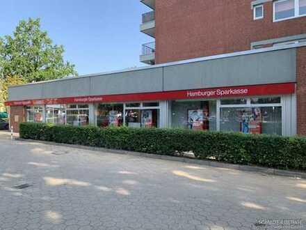 Exponierte Ecklage!  Vermieteter Laden mit 10 Außenstellplätzen in Hamburg-Schnelsen