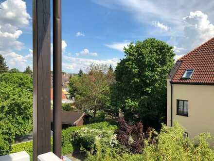 Erstbezug nach Sanierung: stilvolle 1-Zimmer-Wohnung mit EBK und Balkon in Kissing