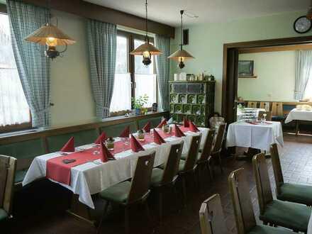 Beliebter Gasthof mit großem Saal und Betreiberwohnung in Bad Rodach/Heldritt!