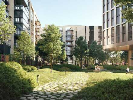 Wohngenuss für Singles: moderne 2-Zimmer-Wohnung mit durchdachtem Grundriss