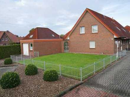 Schöne Doppelhaushälfte mit großer Garage im Feriengebiet Saterland- OT Ramsloh