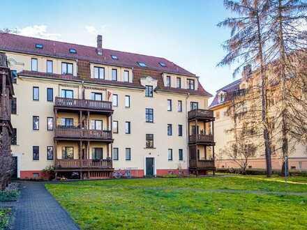 2,5 Zimmer mit Balkon in ruhiger Lage von DD-Cotta!