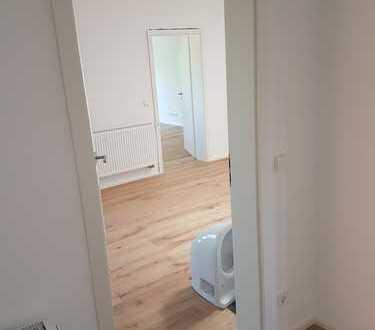 Vollständig renovierte Wohnung mit vier Zimmern sowie Balkon und Einbauküche in Eppingen