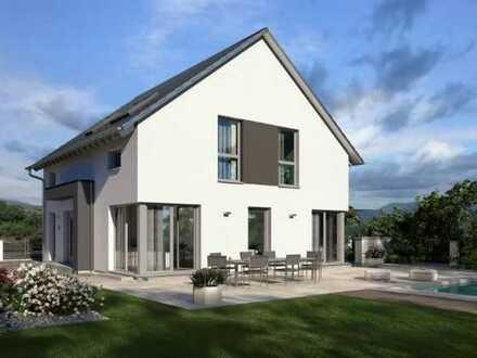 Mit Design ins Eigenheim inclusive Grundstück