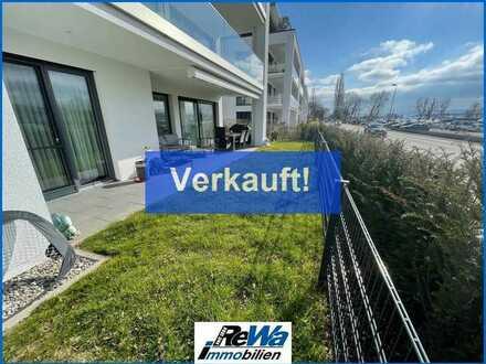 4,5 Zimmer-Traumwohnung in stadtnaher Lage mit Seesicht, zwei Terrassen, Aufzug, Barrierefrei uvm !!
