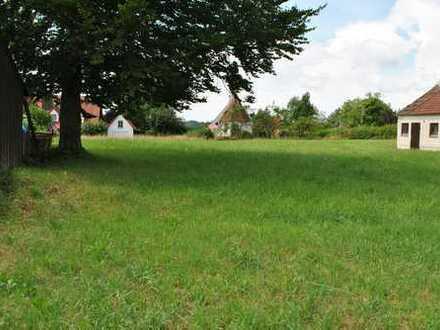 Wohnbaugrundstück in besonderer Lage in Eresing-Pflaumdorf