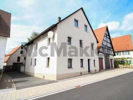 Ein Traum für Familien: Charmantes EFH mit großem Grundstück u. Scheune in ruhiger Lage bei Nürnberg